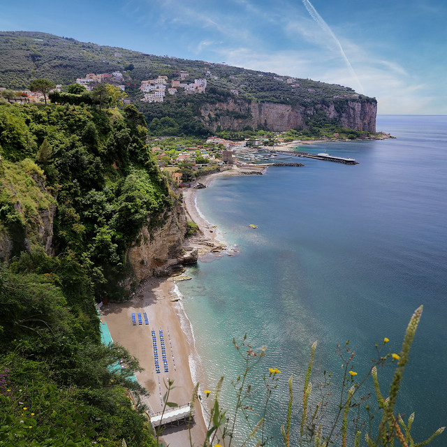 If you're looking for a quiet place, Vico Equense is the place!