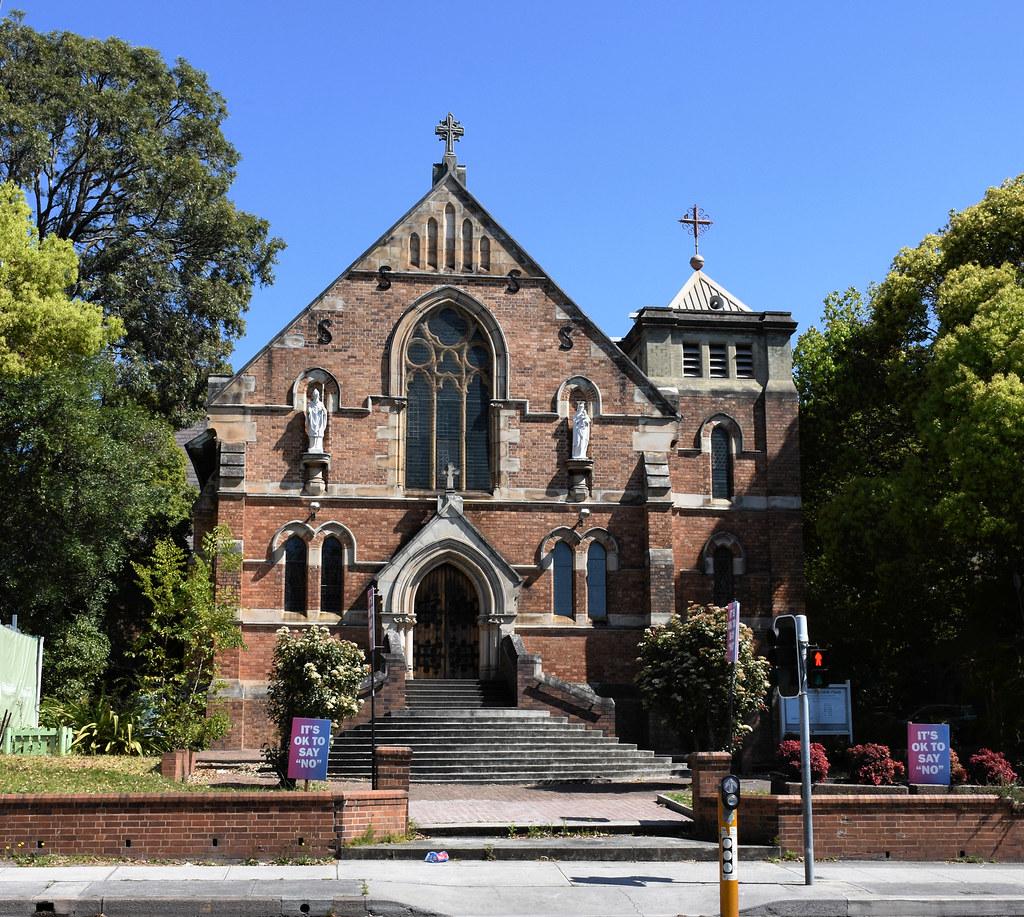 St Patrick's Catholic Church, Kogarah, Sydney, NSW.