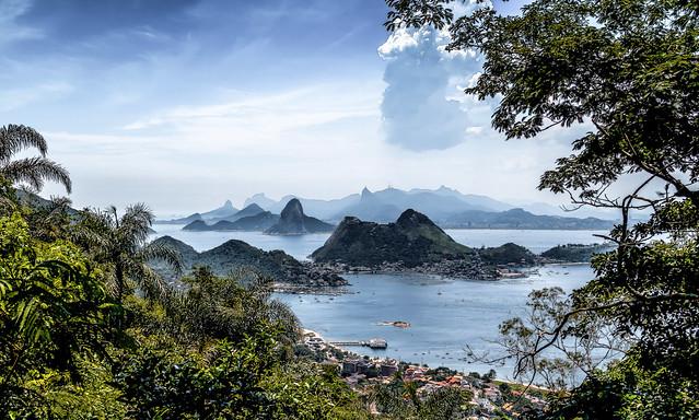 O Rio de Janeiro visto de Niterói