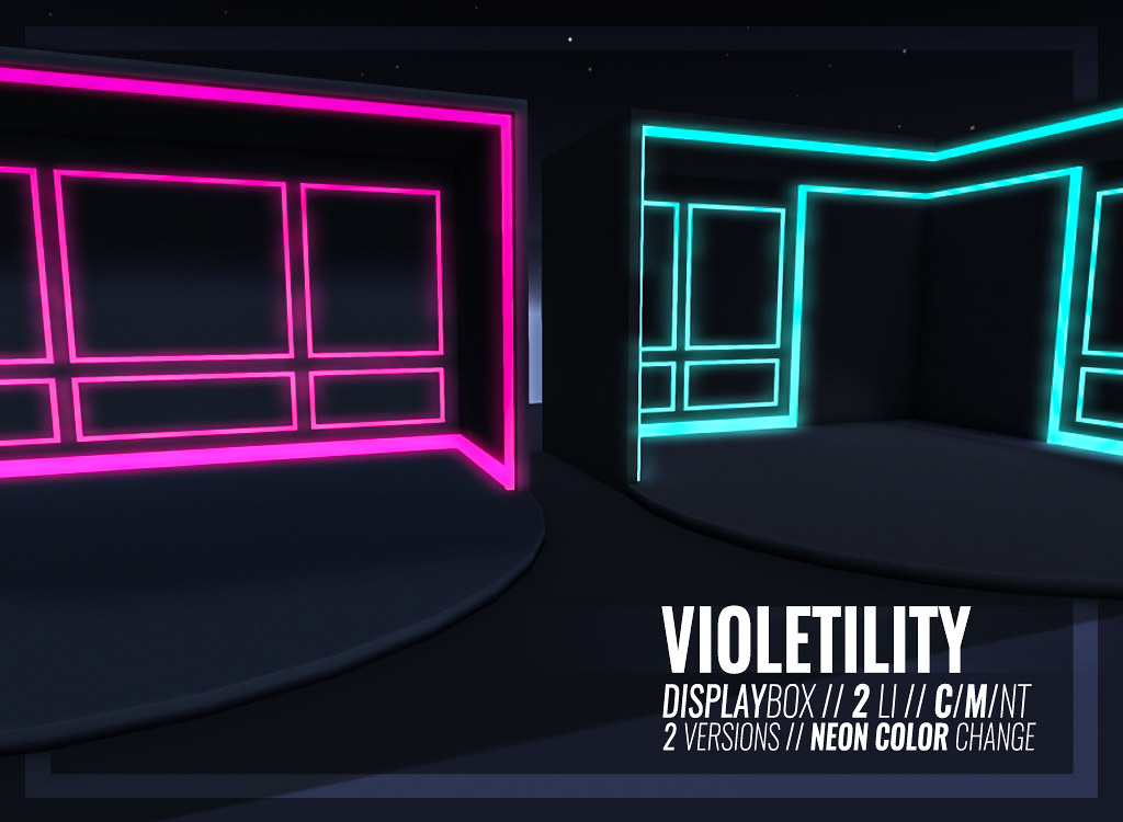 Violetility – Display Box