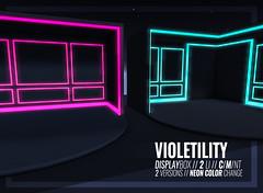 Violetility - Display Box