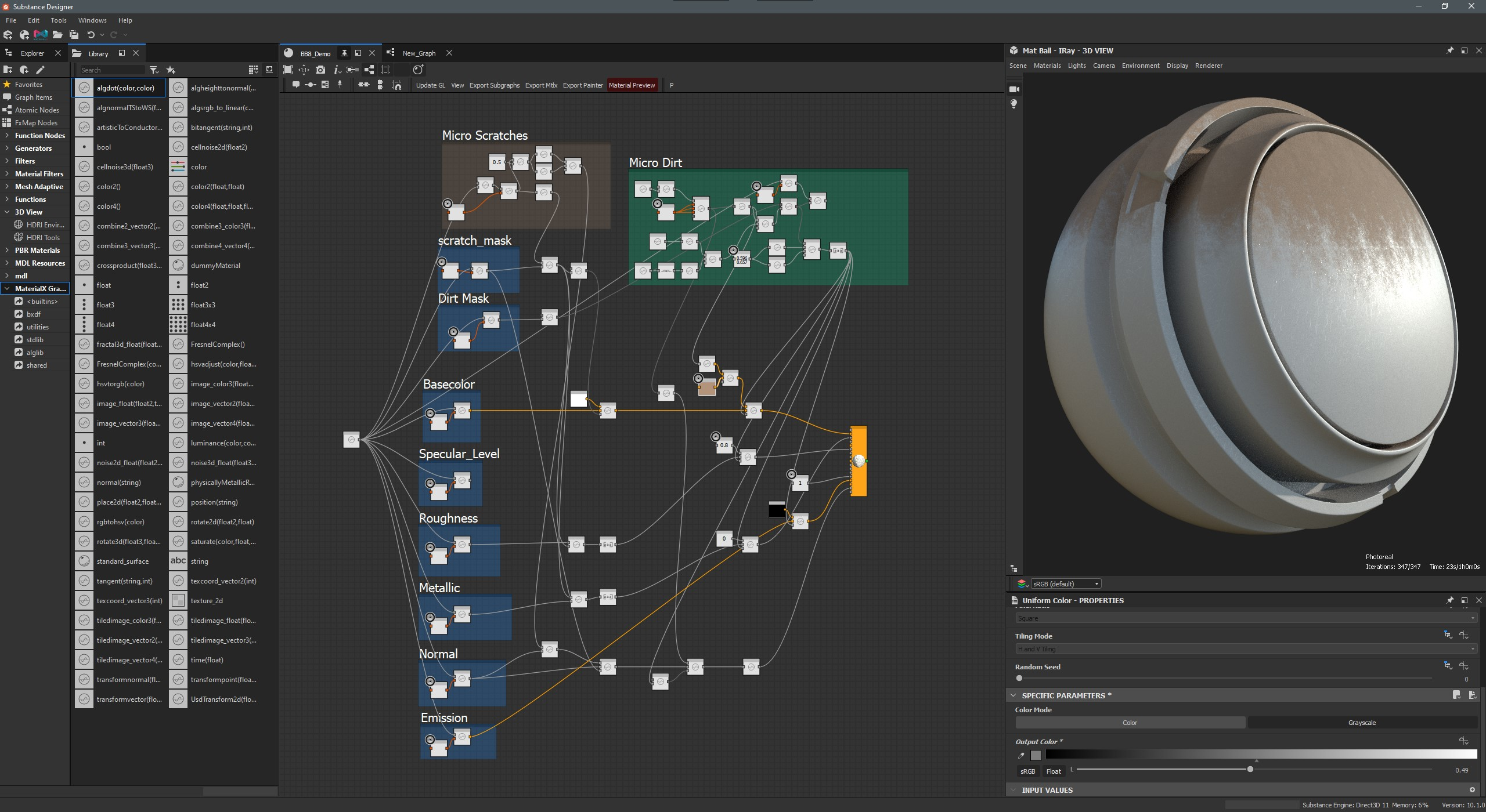 Working with Substance Designer 10.1.3.3687 full license
