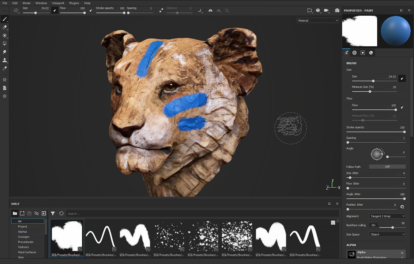 Working with Substance Painter 6.1.3 full license