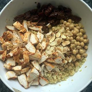 salade de boulghour au poulet harissa8