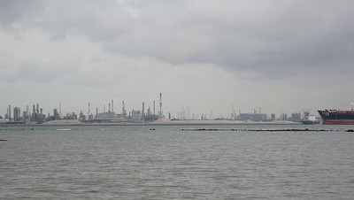 Ongoing reclamation at Jurong Island from Cyrene, Jun 2020