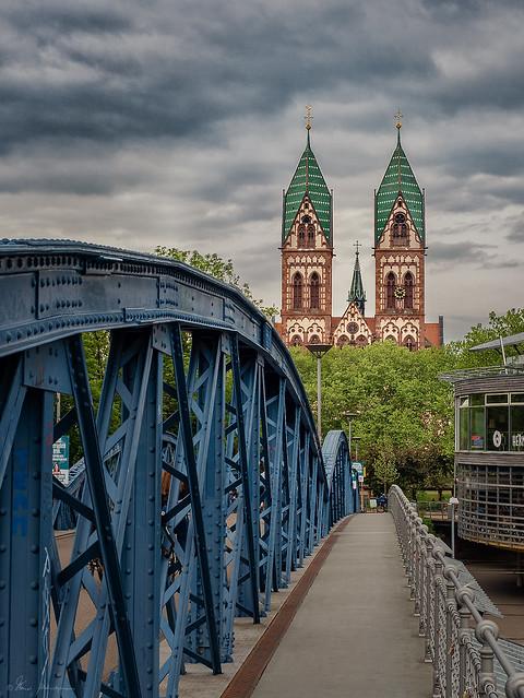 Die blaue Brücke, Freiburg