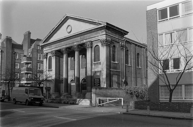 Former Methodist Church, Drama Centre London, Prince of Wales Rd, Chalk Farm, Camden, 198787-1a-22_2400