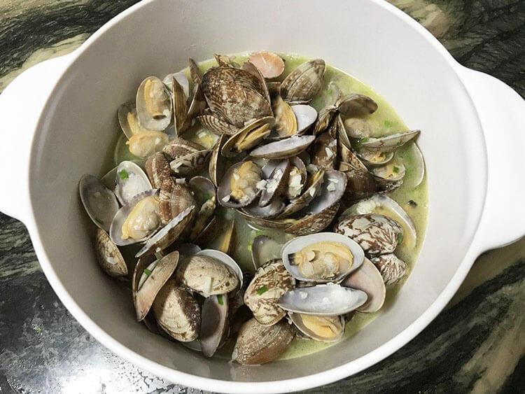 Asari clams from Japan
