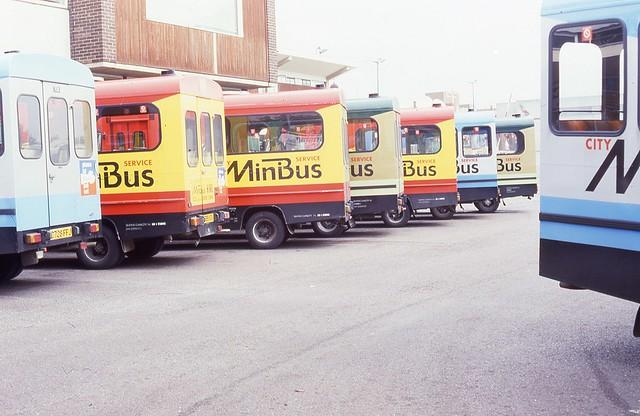 Devon General Minibus