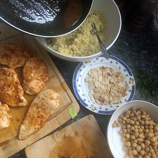 salade de boulghour au poulet harissa7