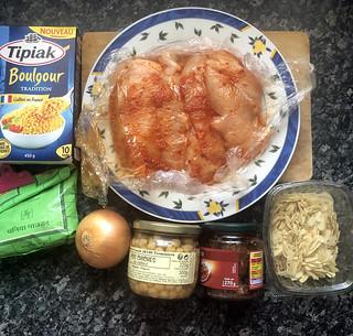 salade de boulghour au poulet harissa6