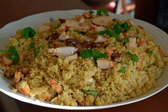 salade de boulghour au poulet harissa2
