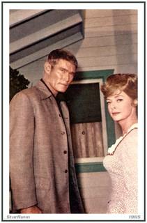 Chuck Conners, June Lockhart   1965