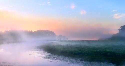 quaboagriver quaboag river water sunrise morning summer fog mist nikon nikkor d810 nikond810 massachusetts landscape