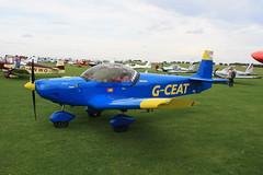 G-CEAT Zenair CH601 [PFA 162-13930] Sywell 300819