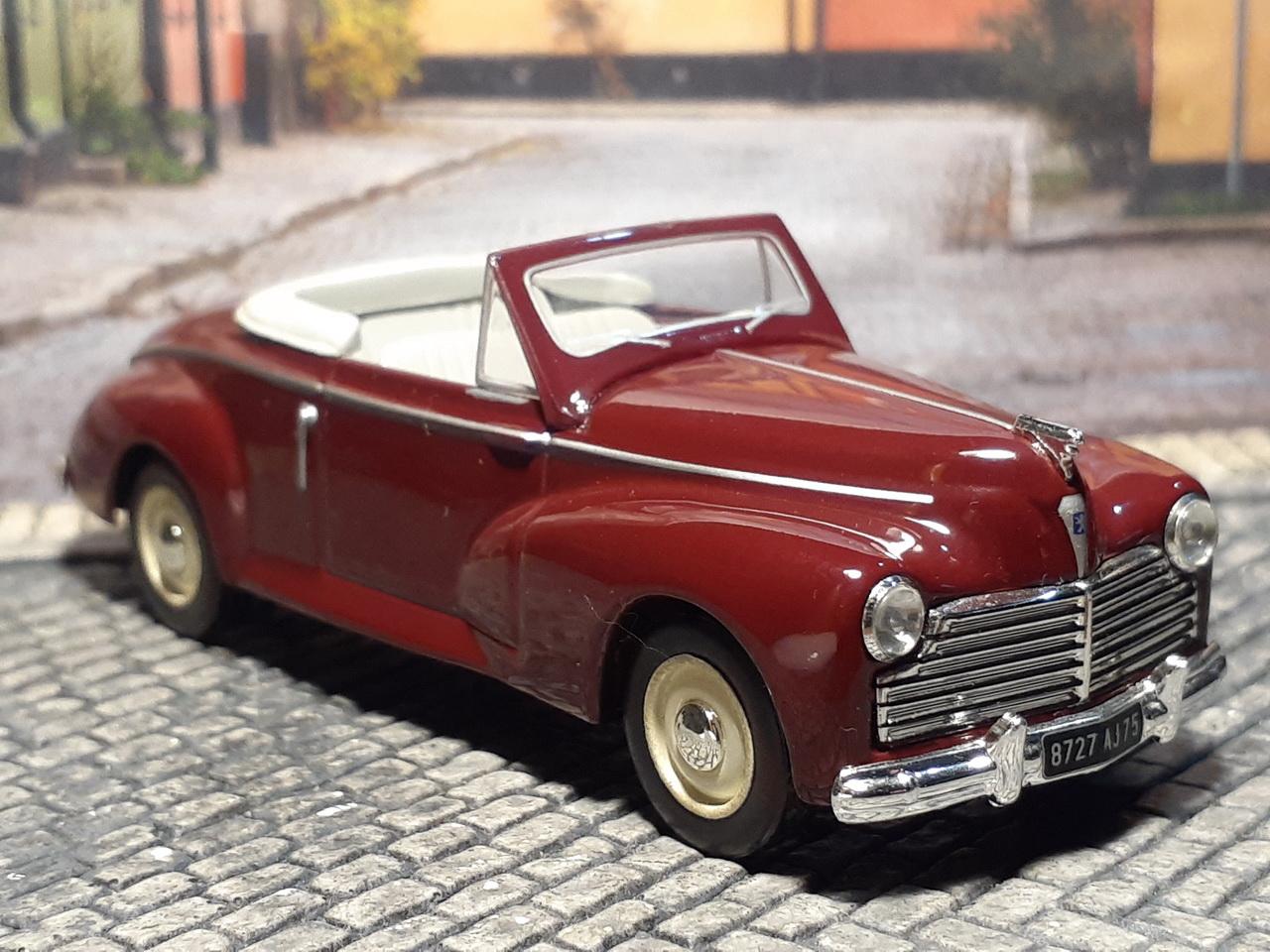 Peugeot 203 Coupé Cabriolet - 1953