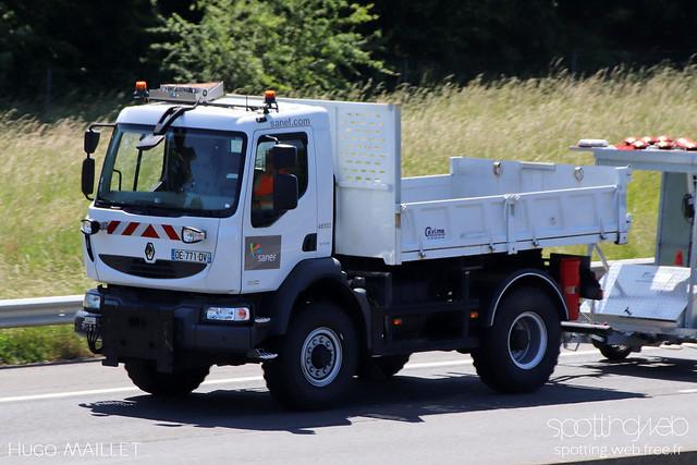 Sanef | Renault Midlum 300