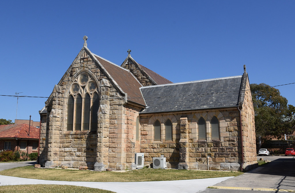 St Paul's Anglican Church, Kogarah, Sydney, NSW.