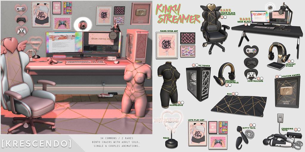 [Kres] Kinky Streamer