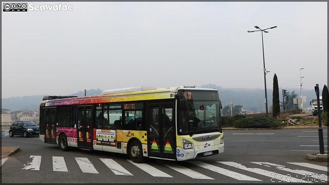 Iveco Bus Urbanway 12 – Vienne Mobilités (RATP Dev) / L'va (Lignes de Vienne Agglomération) n°85