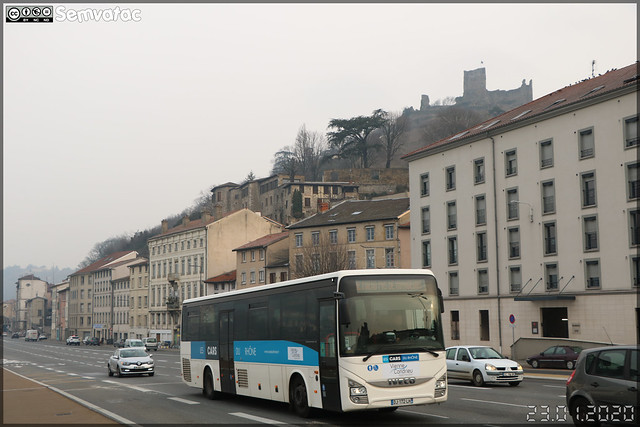 Iveco Bus Crossway – Transdev RAI (Rhône Alpes Interurbain) / Les Cars du Rhône / Vienne Condrieu Agglomération n°7661