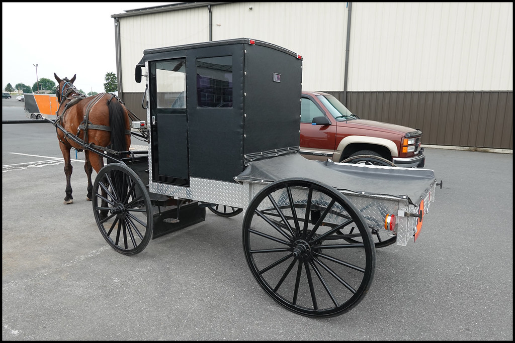6-27-20 - Amish pick-up truck