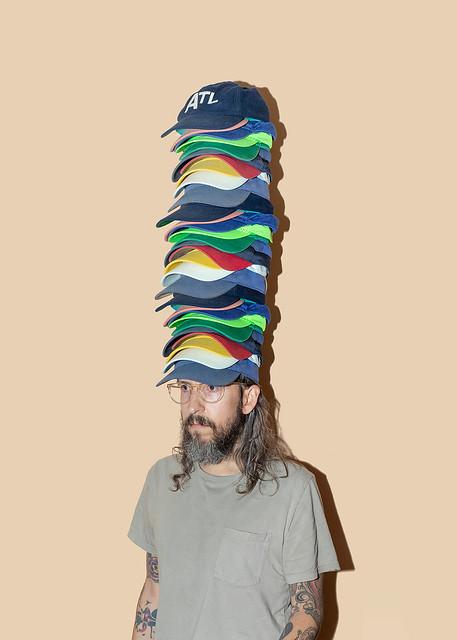 Sometimes I wear a lot of hats.