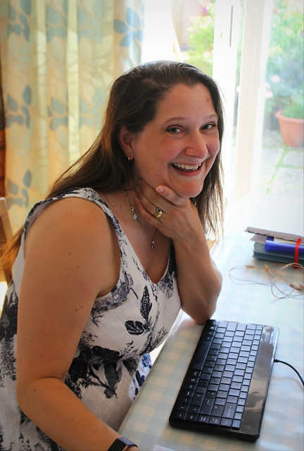 Canon EOS 60D - My beautiful wife Lisa - Working from home