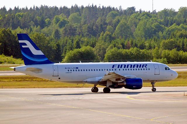 OH-LVG   Airbus A319-112 [1916] (Finnair) Stockholm-Arlanda~SE 06/06/2008