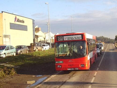 autobús Man carrosseria Hispano línia Vilanova-sant Maure-Santa Margarida de Montbui
