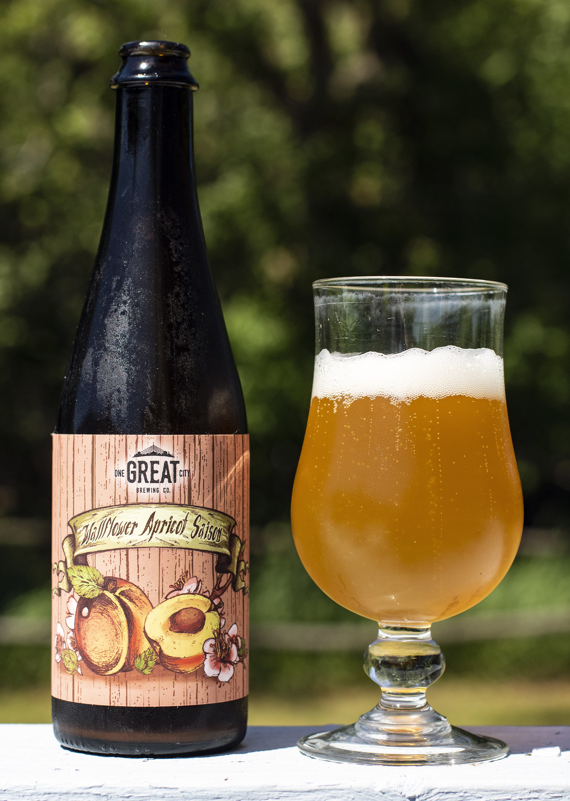 One Great City Wallflower Apricot Saison