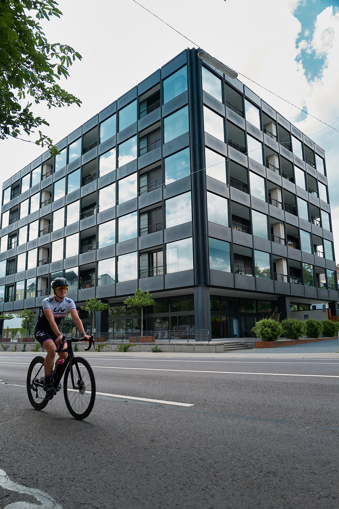Unique Cyclist | The former Siemens building in ...