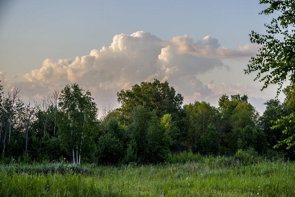Улетает время с облаками.