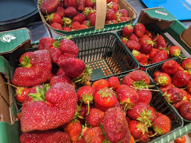Strawberries from Thames River Melons