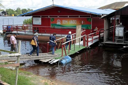 27.06.20.Fiscalização da Visa Manaus em flutuantes