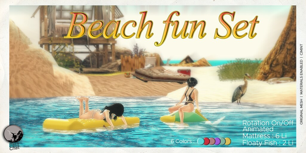 New Release : Beach Fun @ Secret Sale Sundays.