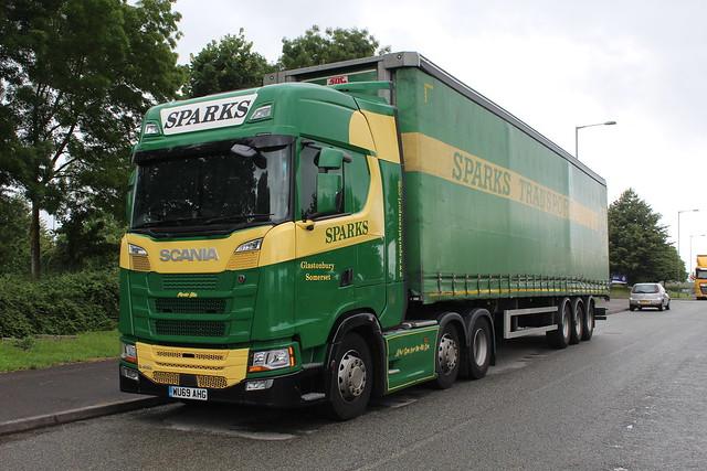 Scania S450 - Sparks Transport