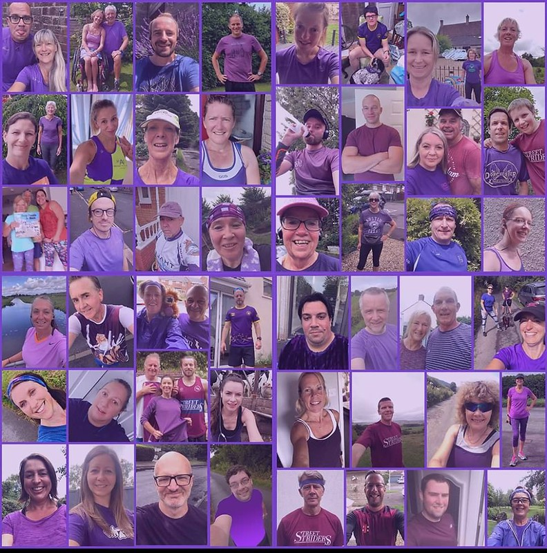 Rainbow week 6 purple