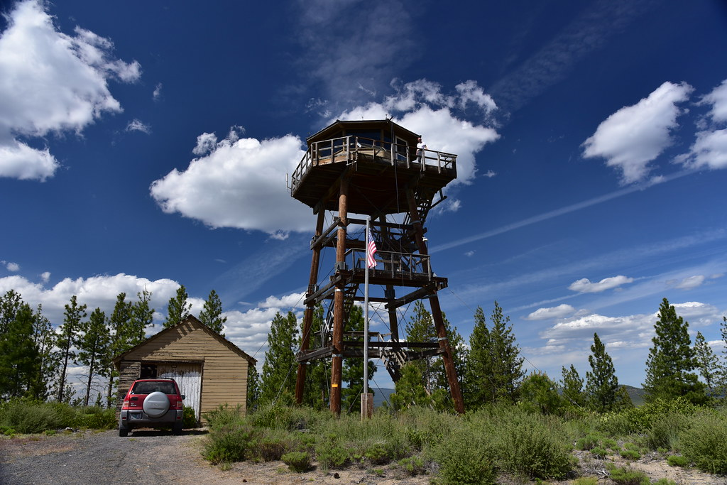 Spring Butte Lookout