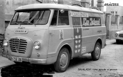 furgoneta Romeo A Canalons La Ideal