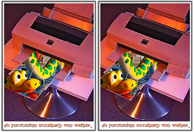 3D Photo Printer :-)