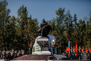 27.06.2020 | Освящение часовни на новом мемориале павшим войнам Великой Отечественной войны