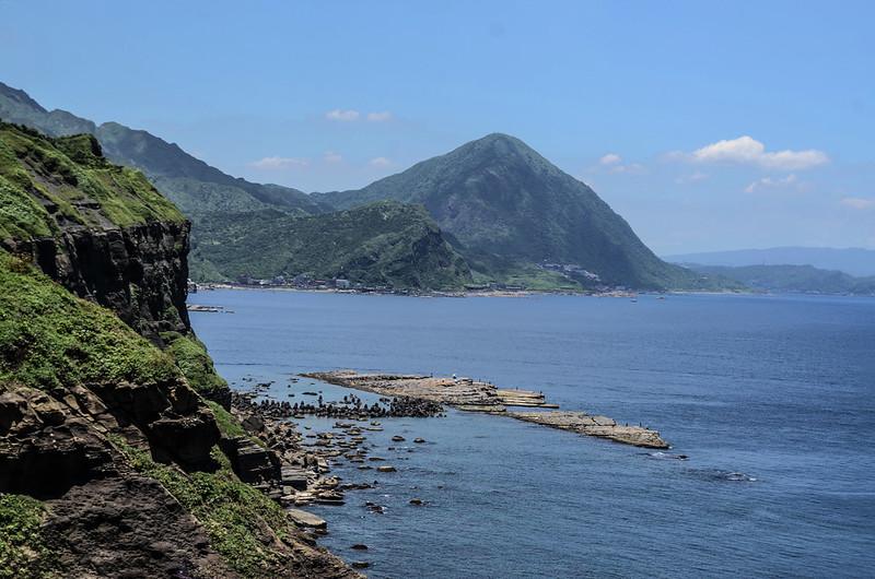 燈塔觀景台西眺海岸線 (2)
