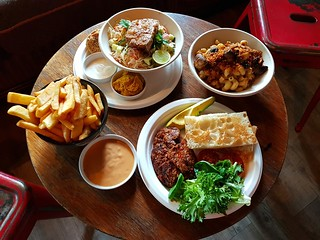 All the foods at Paper Moon and Wild Spice Kitchen