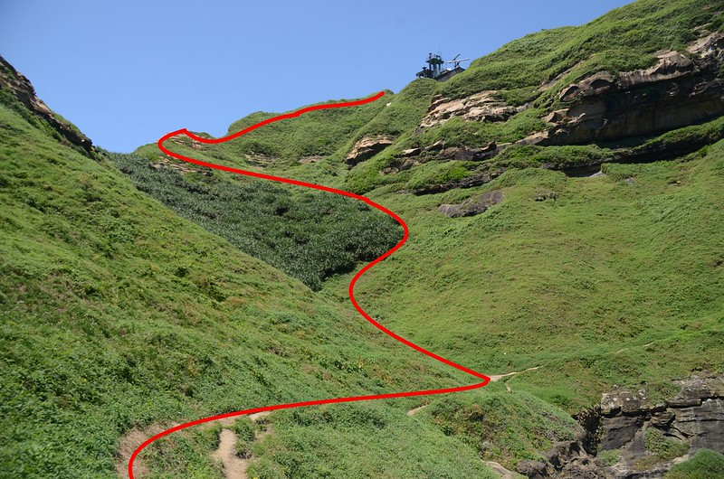 鼻頭角山登山路徑