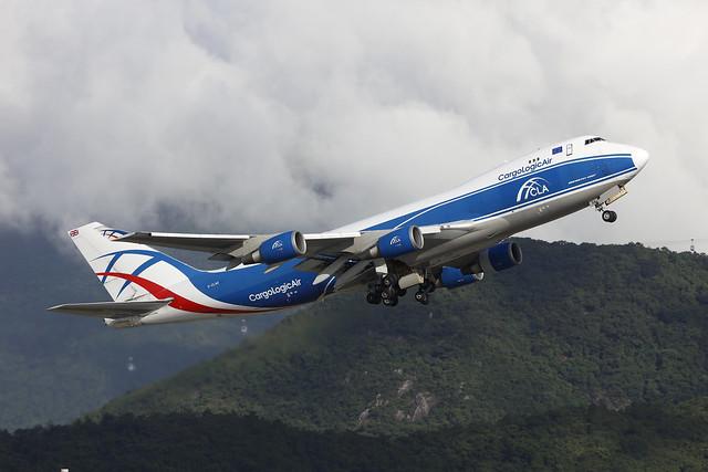 G-CLAA, Boeing 747-400F, Cargologic Air, Hong Kong