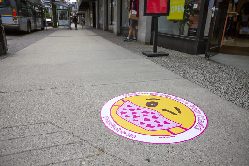 Sidewalk Stickers