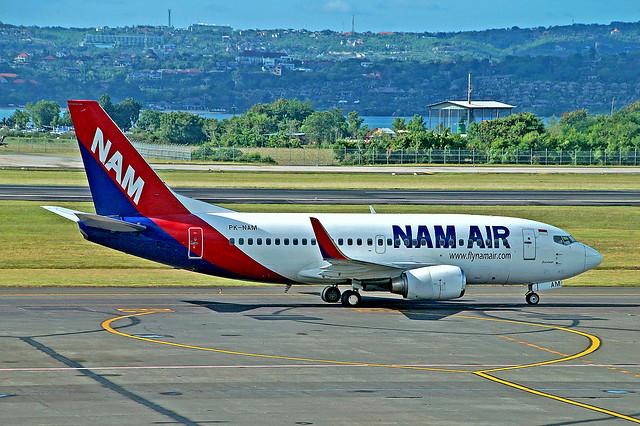 PK-NAM   Boeing 737-524 [27900] (Nam Air) Bali-Int'l~PK 27/10/2016
