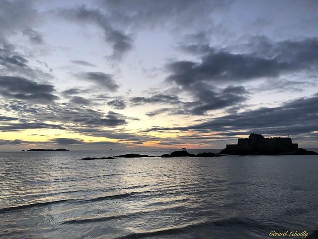 Dans les eaux de Saint-Malo
