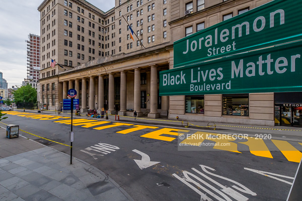 'Black Lives Matter' Boulevard in Brooklyn
